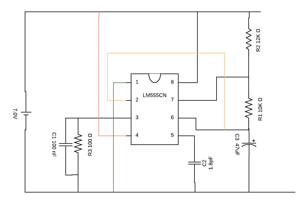 Astabil_vibrator_circuit