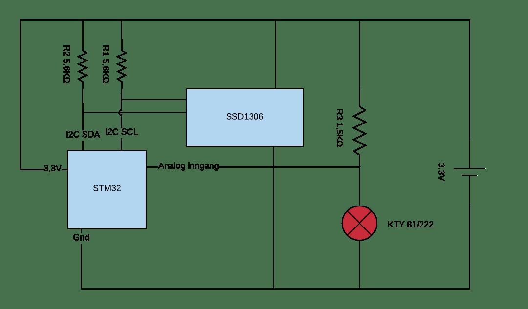 stm32_temp_oled_circuit